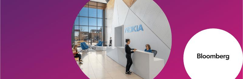 Nokia quer adaptar escritórios para modelo de trabalho flexível